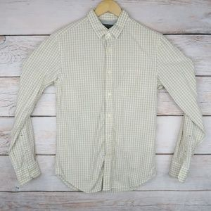 Banana Republic Soft Wash Slim Fit Plaid Shirt